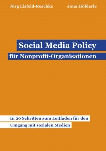 Buchcover Social Media Policy für Nonprofit Organisationen