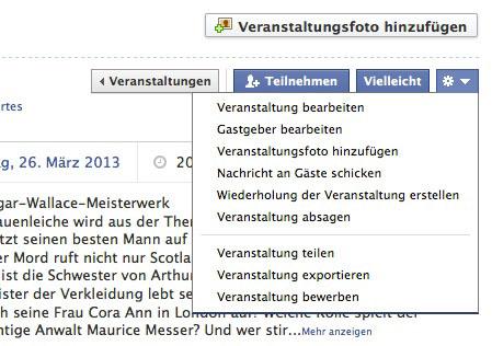 facebook aufs handy