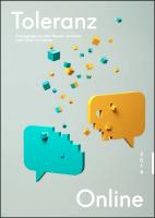 Toleranz Online - Cover - ©2014 Datajockey