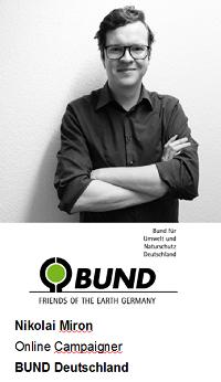 Nikolai Miron, Online Campaigner bei BUND Deutschland