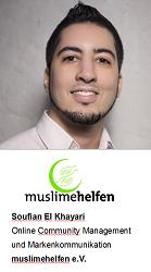 Soufian El Khayari, Online Community Management und Markenkommunikation bei muslimehelfen e.V.