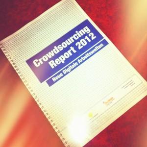 Crowdsourcing Report 2012