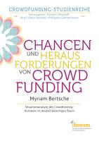 Myriam Bertsche - Chancen und Herausforderungen von Crowdfunding