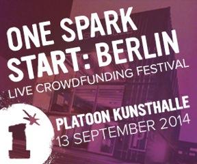 One Spark START Berlin Banner